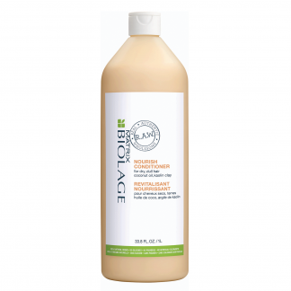 MATRIX Biolage R.A.W. Nourish Conditioner for dry, dull hair with coconut oil, kaolin clay 33.8 fl oz / 1 litre