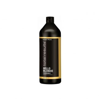 MATRIX Total Results Hello Blondie Chamomile Conditioner for brilliance 33.8 fl oz / 1 litre