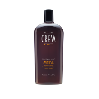 AMERICAN CREW Firm Hold Styling Gel 33.8 fl oz / 1 litre