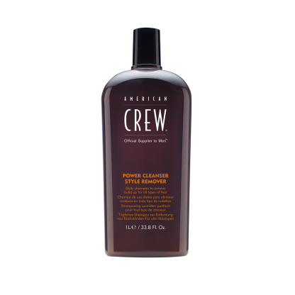 AMERICAN CREW Power Cleanser Style Remover Shampoo 33.8 fl oz / 1 litre