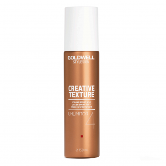 GOLDWELL StyleSign Creative Texture Strong Spray Wax, Unlimitor 4, 4.6 fl oz / 136 ml