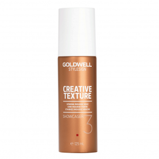 GOLDWELL StyleSign Creative Texture Strong Mousse Wax, Showcaser 3, 4.1 oz / 116 g