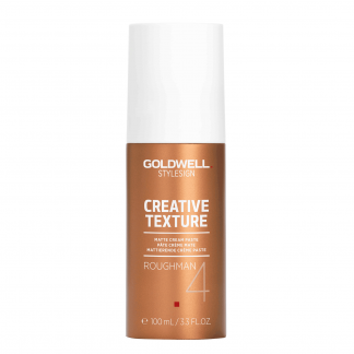 GOLDWELL StyleSign Creative Texture Matte Cream Paste, Roughman 4, 3.3 oz / 94 g