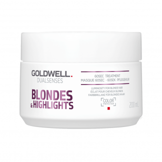 GOLDWELL DualSenses Blondes & Highlights 60 Second Treatment 6.7 fl oz / 200 ml