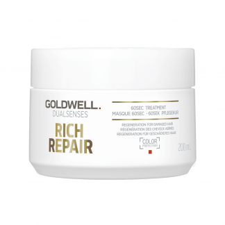 GOLDWELL DualSenses Rich Repair 60 Second Treatment 6.76 fl oz / 200 ml