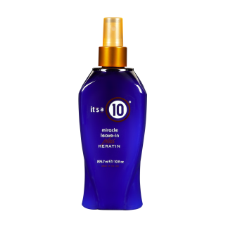 It's a 10 Miracle Leave-in PLUS Keratin 10 fl oz / 296 ml