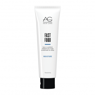 AG HAIR CARE Fast Food Leave On Conditioner – Moisture 6 fl oz / 175 ml