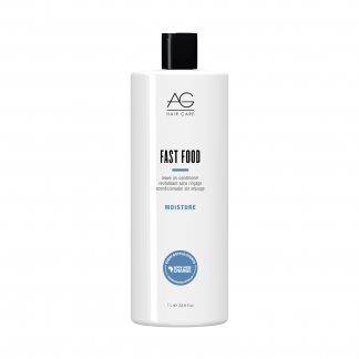 AG HAIR CARE Fast Food Leave On Conditioner – Moisture 33.8 fl oz / 1 litre