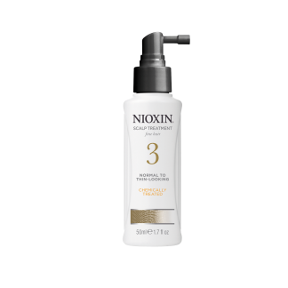 NIOXIN System 3 Scalp Treatment for normal to thin-looking hair – chemically treated 1.7 fl oz / 50 ml