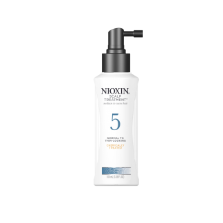 NIOXIN System 5 Scalp Treatment, for medium to coarse hair, chemically treated 3.4 fl oz / 100 ml