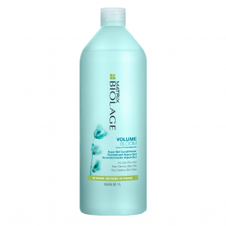 MATRIX Biolage VolumeBloom Cotton Aqua Gel Conditioner for Ultra-Fine Hair 33.8 fl oz / 1 litre