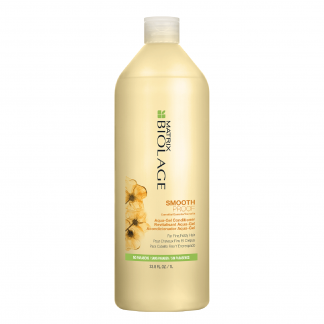 MATRIX Biolage SmoothProof Camelia Aqua Gel Conditioner for Fine, Frizzy Hair 33.8 fl oz / 1 litre
