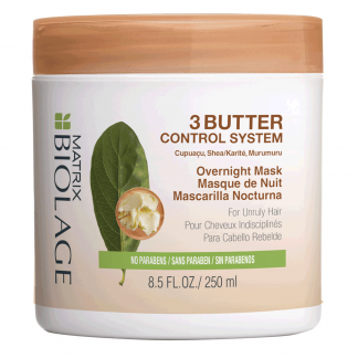 MATRIX Biolage 3Butter Control System Overnight Mask 8.5 fl oz / 250 ml