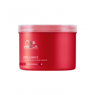 WELLA PROFESSIONALS Brilliance Treatment for Fine to Normal Colored Hair 16.9 fl oz / 500 ml