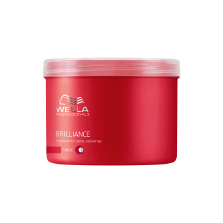 WELLA PROFESSIONALS Brilliance Treatment for Course Colored Hair  16.9 fl oz / 500 ml