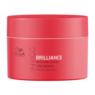WELLA PROFESSIONALS INVIGO Brilliance Fine/Normal Mask 5.07 fl oz / 150 ml